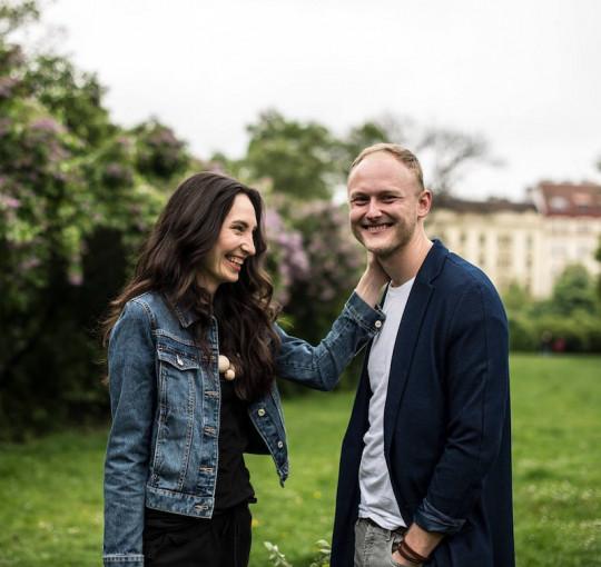 Marika a Jirka Kučovi