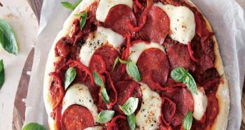 Pizza z pánve podle Jamieho Olivera
