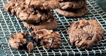 Čokoládové sušenky s pekany