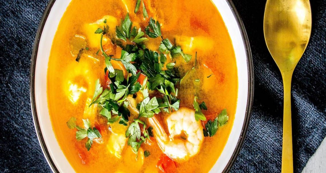 Italská rybí polévka