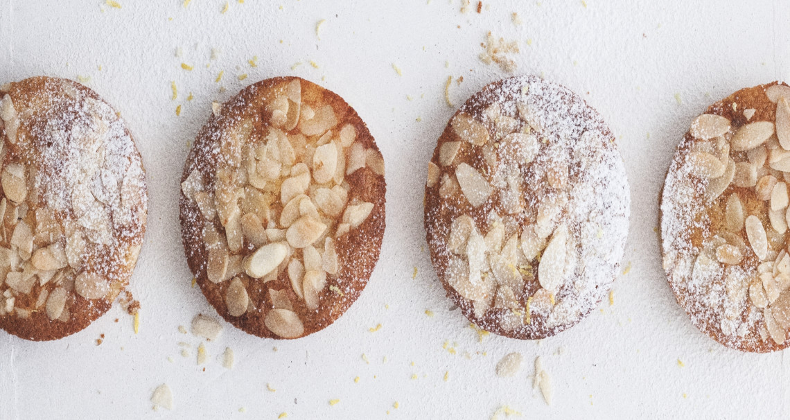 Citronovo-mandlové koláčky