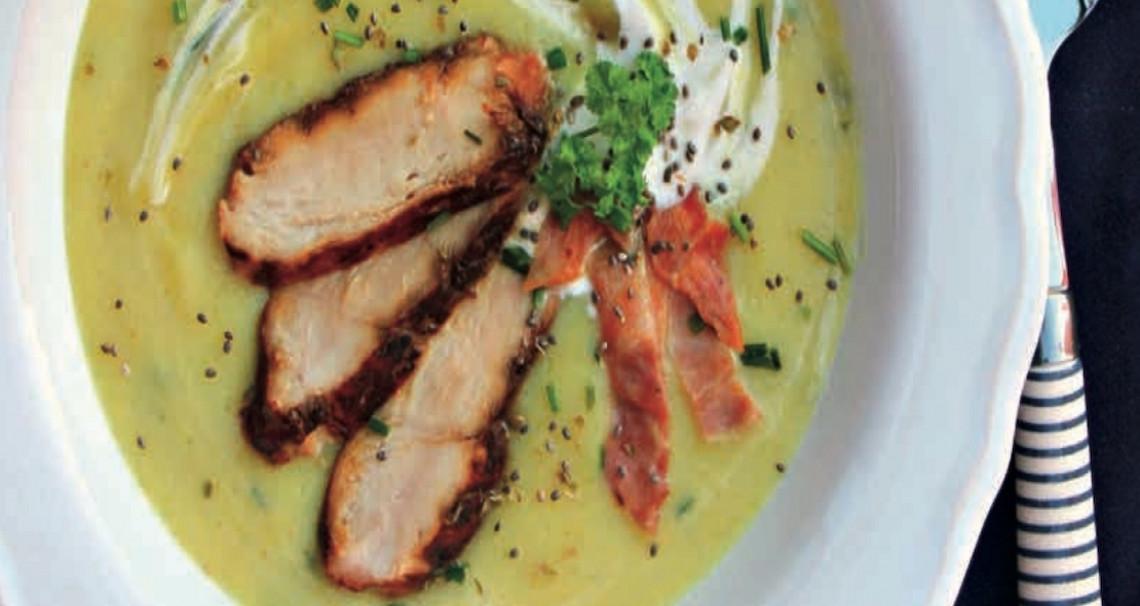 Fenyklová krémová polévka